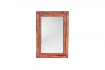 kleine houten spiegel