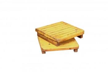 kleine houten bajot