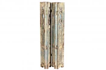 houten kamerscherm uit india