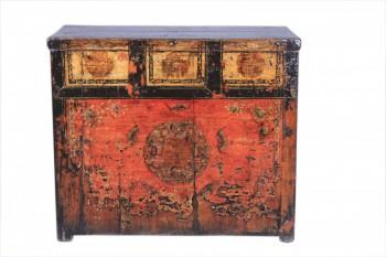 antieke handbeschilderde kast uit china