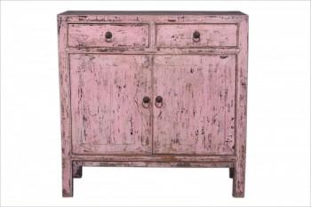 hoog roze dressoir