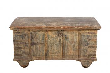 authentieke houten kist