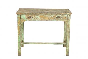 houten schrijftafel