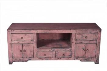 roze TV meubel