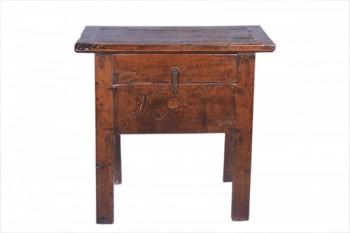 antiek chinees tafeltje met lade