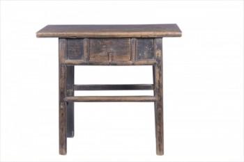 antieke tafel met lade