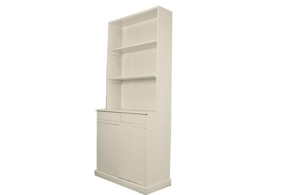 boekenkast gebroken wit