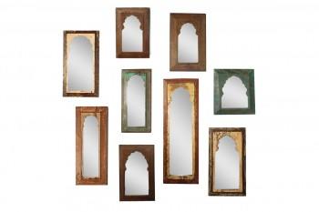 Houten Paneel Spiegel - Gusj oude spiegel