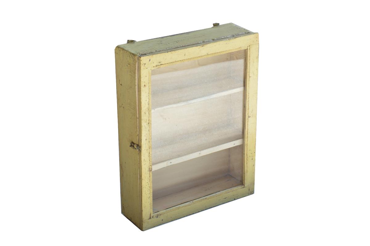 houten vitrinekastjes