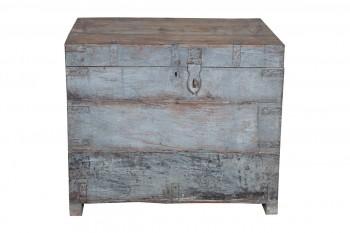 houten kist met handvaten
