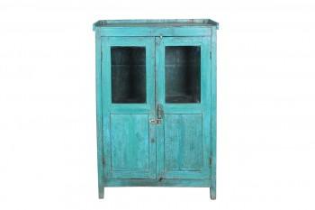 blauwe kast