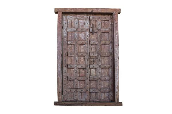 authentieke houten paneeldeur
