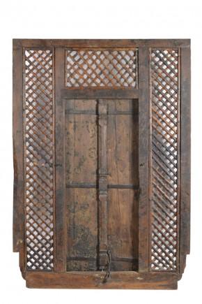 antiek houten raam