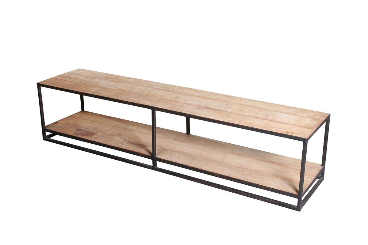 Tv Meubel Afmetingen : Kayu tv meubel ijzer en teak kayu collection gusj