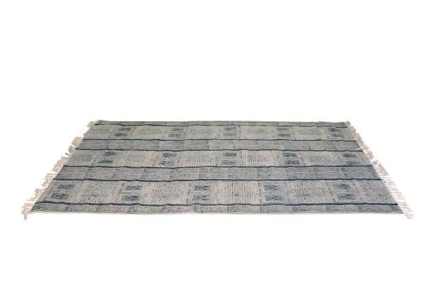stripe stone wash tapijt katoen
