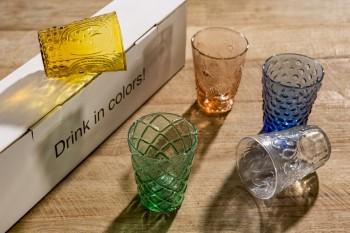 Drink in Colors glaswerk
