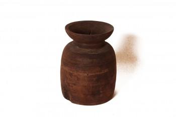 Houten potten uit Nepal