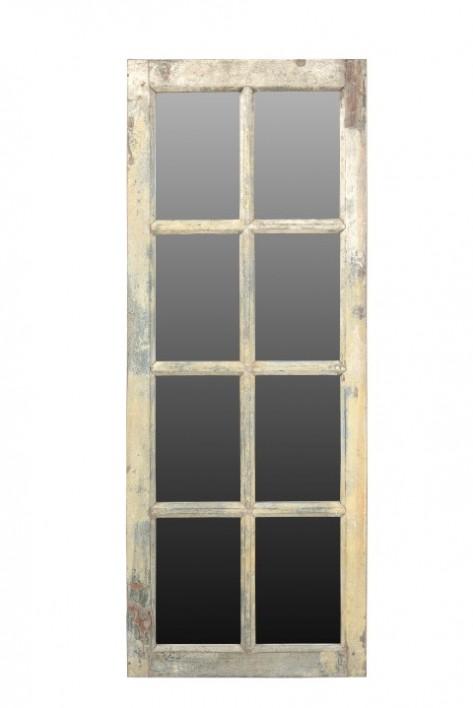 oude raam spiegel