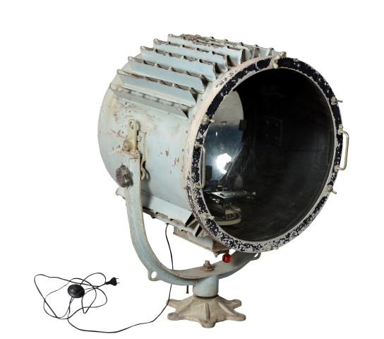 Industri le scheepslamp vloerlamp groen gusj for Industriele vloerlamp