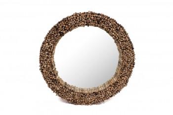 drijfhout spiegel unieke objecten voor in huis