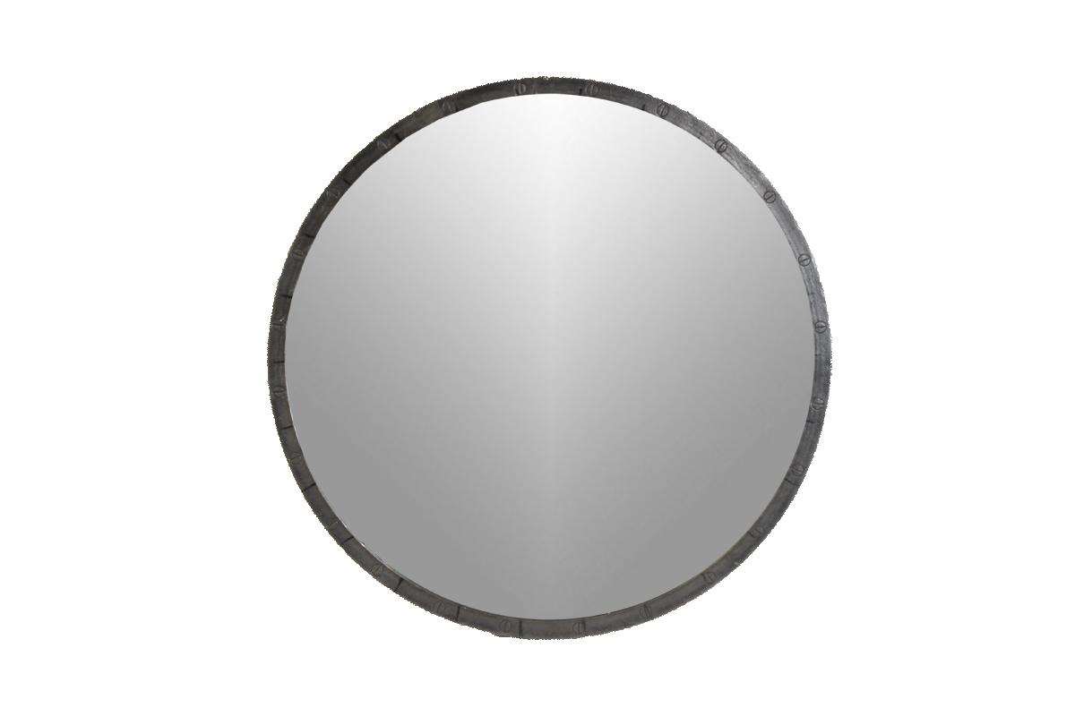 Loft industri le ronde ijzeren spiegel maat xl gusj - Kleine ronde niet spiegel lieve ...